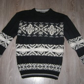 Nanibon мужской свитер мериносовая шерсть 48-размер.Оригинал. Италия
