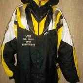 Зимняя мужская тёплая куртка с капюшоном Большой размер!