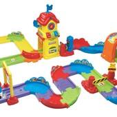 VTech Go! Go! Железная дорога со станцией и поездом smart wheels chug and go railroad train set