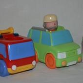 Разные машинки машина из серии Happy Land от ELC mothercare пожарная машина
