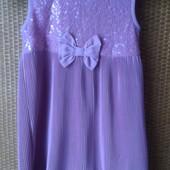 Коктейльное платье Next р. 122 б-у