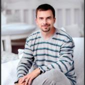 Мужская теплая пижама на махре,шикарное качество!Производитель-Польша.