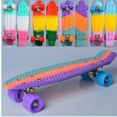 Скейт пенни борд  Penny board MS 0746, колеса ПУ.