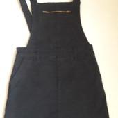 Стильный джинсовый сарафан 7-8 лет 128 см.