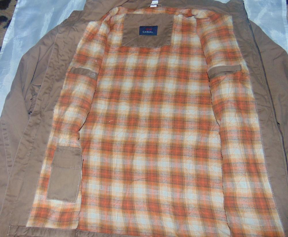 Фирменная стильная деми курточка бренд Casual Wear.хл-2хл . фото №1