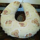 Подушка для беременных, для кормления б/у
