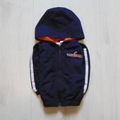 Стильная спортивная кофта для мальчика. Внутри на подкладке. 2nd step. Размер 12 месяцев