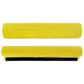 Запаска на швабру 34см (желтая) 0055
