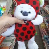 Ведмедик фрутті, мишка фрутти, ведмідь мягкие игрушки тм левеня