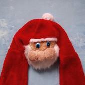 Продаю!  7-10 лет Карнавальный костюм Санта шапка-шарф-рукавички, б/у. Хорошее состояние, без пятен.