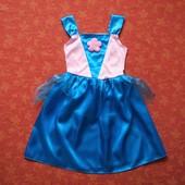 Продаю! 3-5 лет Карнавальное платье, б/у. Хорошее состояние, без пятен.  Длина 62 см, ПО груди 31 см