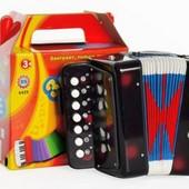 Детская Гармошка 6429/ M 835-H29006 Звонкая гармонь, 10 клавиш, 25 звуков, 4 цвета