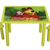 Набор из стола и двух стульчиков «Маша и Медведь», Финекс Артикул: 0-64