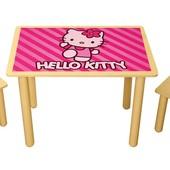Набор из стола и двух стульчиков «Китти», Финекс Артикул: 0-65