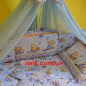 Комплект детской постели Asik 8 элементов