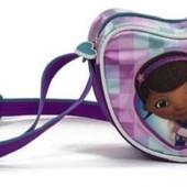 Детская сумка кроссбоди серце Доктор Плюшева в наличии