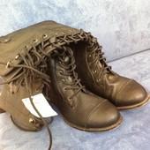 Распродажа! Новые фирменные сапоги Bershka (размер 36)