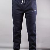 Тёплые мужские штаны на байке на манжетах