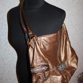 сумка GM сша шоколадное золото
