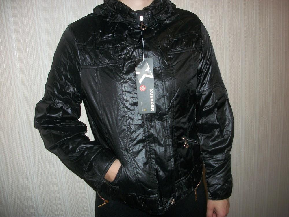 Куртка ветровка демисезонная женская и подростковая s m l xl 2xl 3xl фото №2