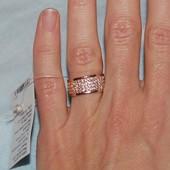 Кольцо золото 15,5 размер новое