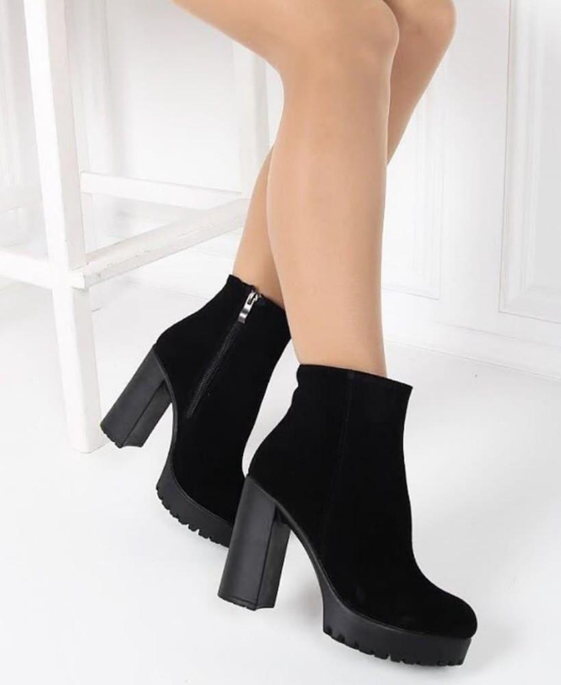 Стильные ботинки каблук натуралки фото №1