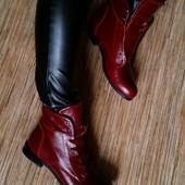 Ботинки кожа и замша Деми и зима