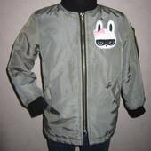 На 3-4 года Крутая деми куртка H&M девочке