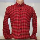 Мужская тёплая рубашка Sayfa, Турция. 3 цвета.