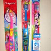 Детские зубные щетки из Америки.