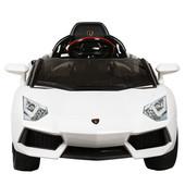 Электромобиль Lamborghini M 3217ebr-1 на eva колёсах, белый