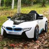 Детский электромобиль je 168 r-1 BMW i8 белая