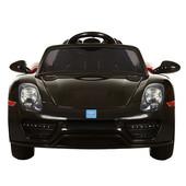 Электромобиль Porsche Spyder M 2765 eblr-2, колеса eva, черный