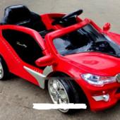 Лицензионный электромобиль BMW M 2701 elr-3 eva колеса,красный