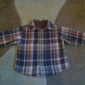 Теплая рубашечка Arizona  на 18 месяцев