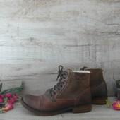 Ботинки зимние кожа фирма