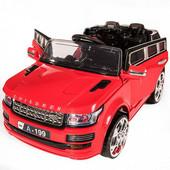 Детский электромобиль Range Rover M 2447 ebr-3 колеса eva