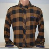 Распродажа! Мужская тёплая рубашка G-port, Турция. 5 цветов.