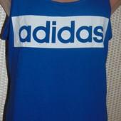 Фирменная стильная спортивная майка оригинал Adidas.с-м