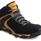 Код: gr1179  - 80 Мужские спортивные зимние теплые ботинки на шнуровке в двух цветах