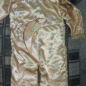 Костюм месяца с золотой вышивкой