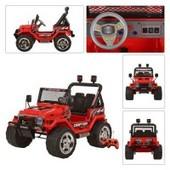 Детский электромобиль Джип S 618(2) R-3 красный