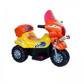Детский мотоцикл BT-BOC-0013 orange-yellow