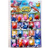 Фигурки героев мультфильма Супер крылья , разные персонажи