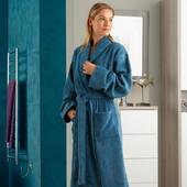 Халат махровый от TCM Tchibo, цвет ярко бирюзовый , размер М