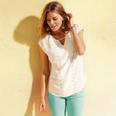 легкая нежная блуза - топ с вышивкой ТСМ Чибо. М