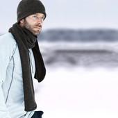 Тепленький мужской шарф от тсм Tchibo размер универсальный