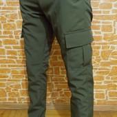 Индивидуальный пошив брюк! мужские брюки карго (Cargo) черные, хаки, темно-синие