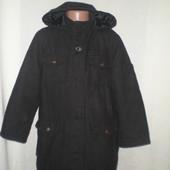 пальто теплое 7-8л