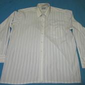 """Рубашечка белая в полосочку """"W.Fashion New York"""" в хорошем состоянии, размер 43, Уп 10грн"""